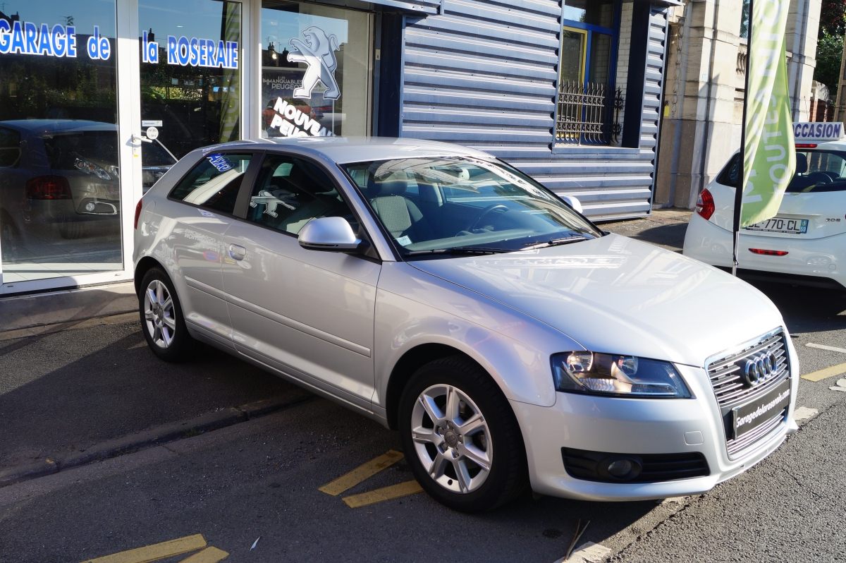 Occasion audi a3 ambiente 1 9 tdi 105 ch 3 portes for Garage audi bayonne occasion