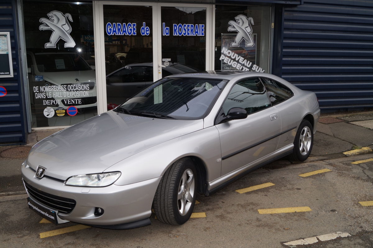 Occasion peugeot 406 coup griffe 2 2 essence 160 ch for Voiture occasion dans garage