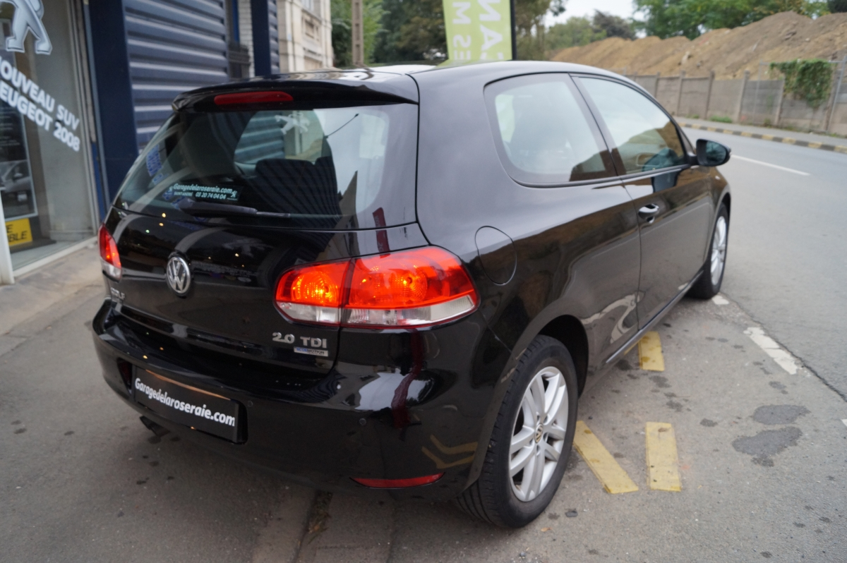 Occasion volkswagen golf vi 2 0 tdi 140 ch conforline 3 for Garage reprise voiture lille