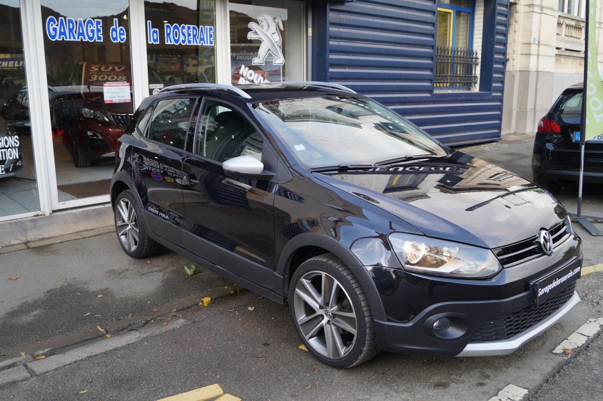Occasion volkswagen polo cross 1 6 tdi 90 ch - Garage volkswagen voiture occasion ...