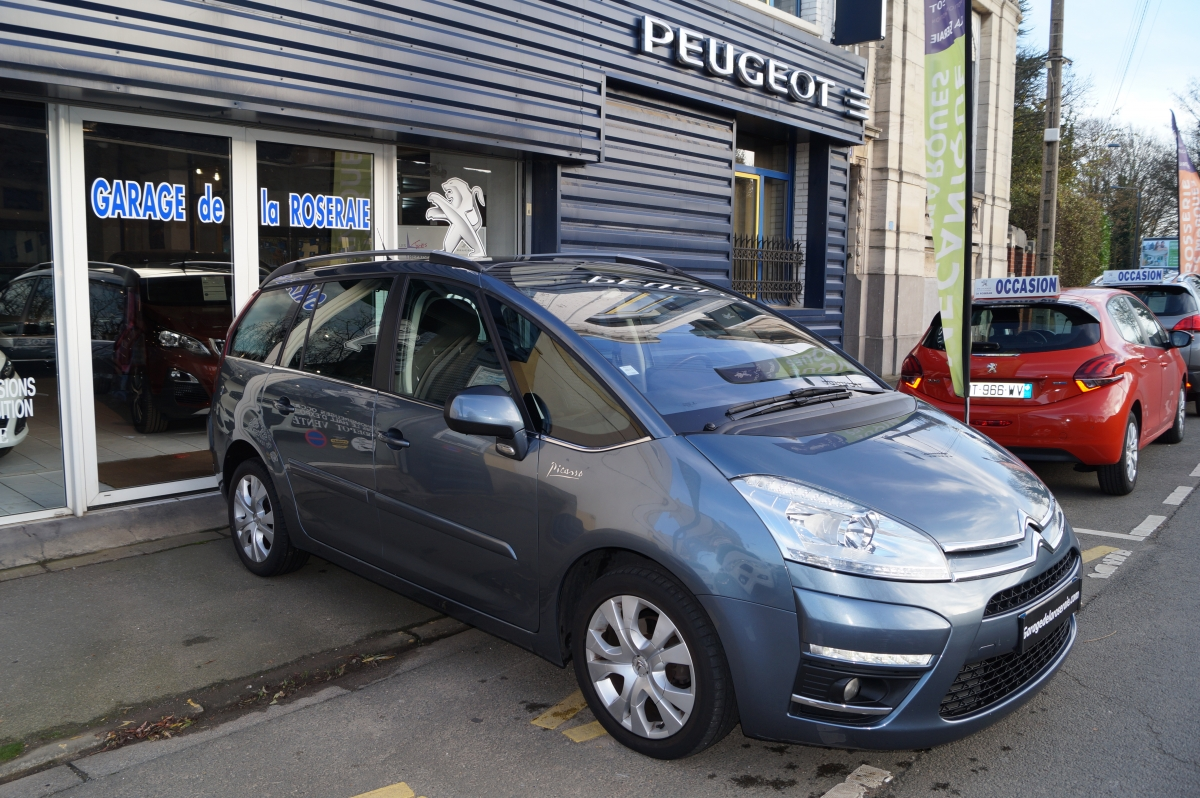 Occasion citro n grand c4 picasso 1 6 hdi 110 ch millenium 7 places - Garage voiture occasion amiens ...