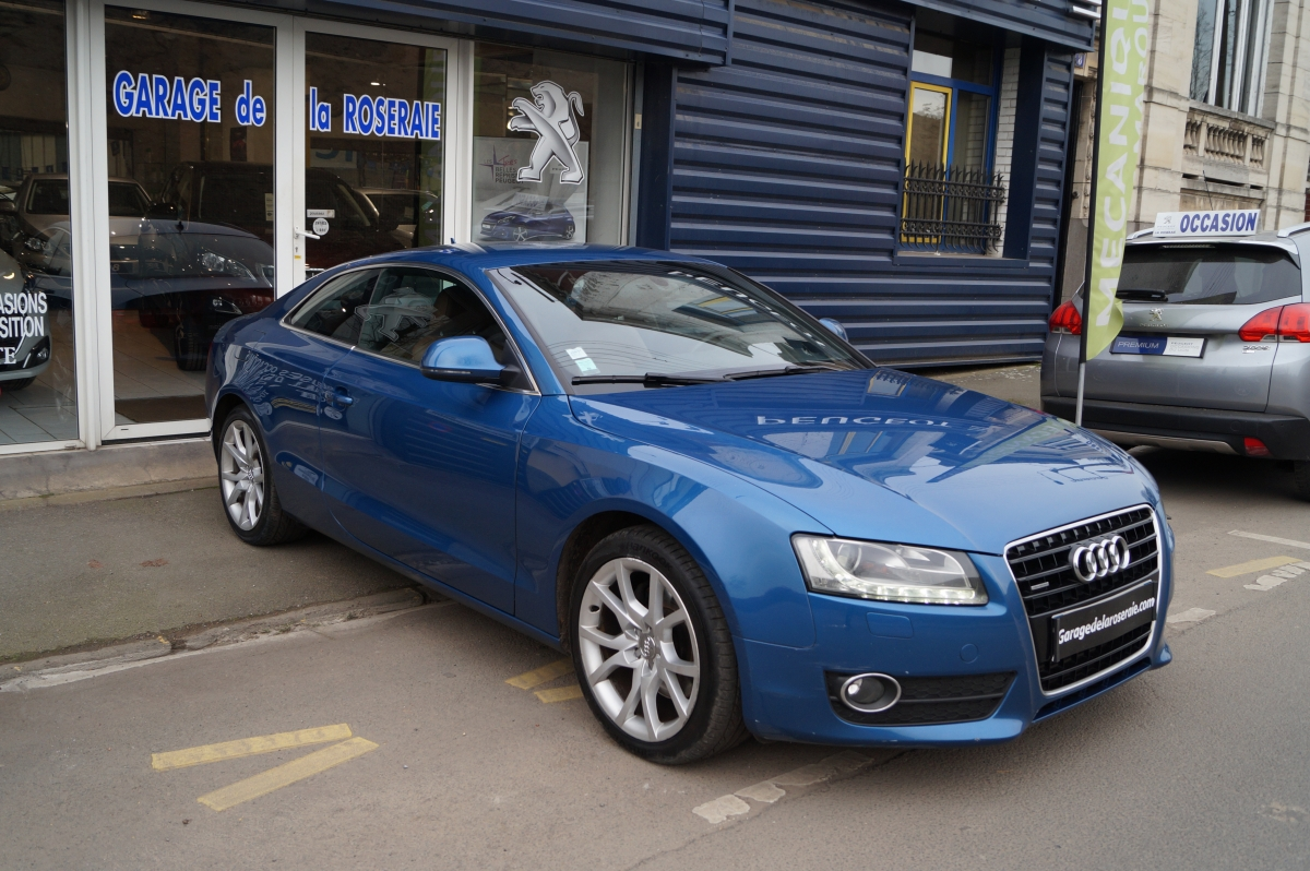Occasion audi a5 3 0 tdi 240 ch quattro ambition luxe for Garage audi bayonne occasion