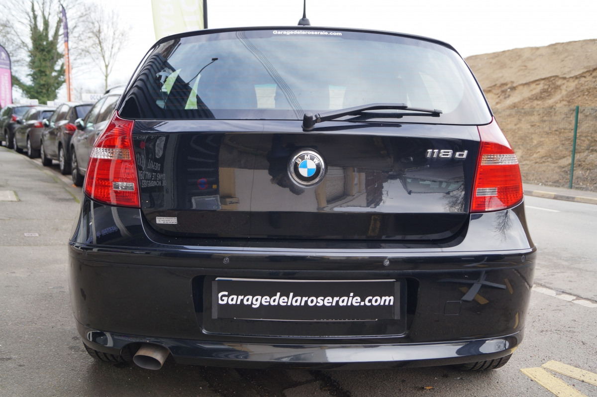 Occasion bmw s rie 1 e81 118d excellis 143 ch for Garage bmw annecy voiture occasion