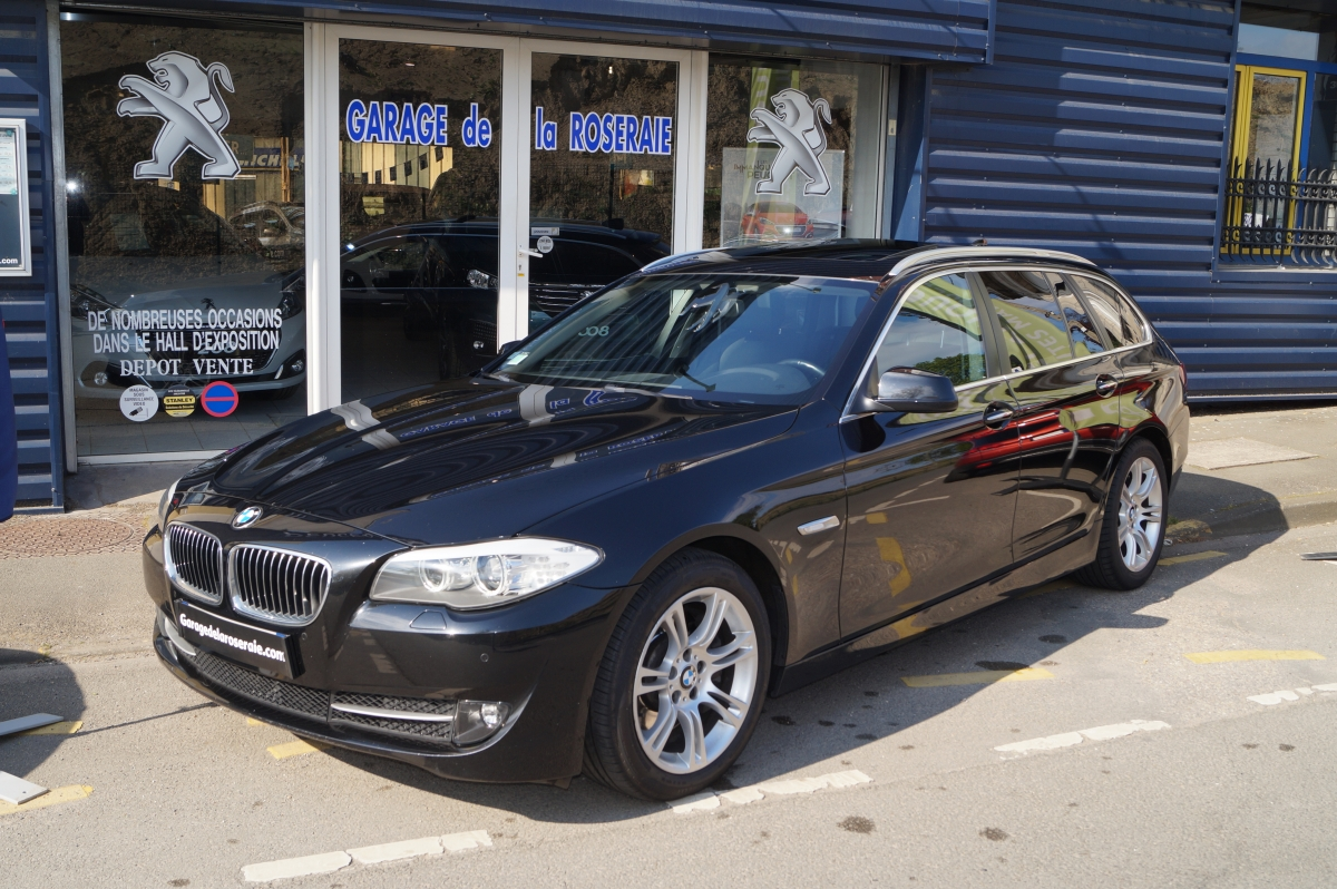 Occasion bmw s rie 5 f11 touring 530 da xdrive 258 ch luxe for Garage voiture occasion sedan