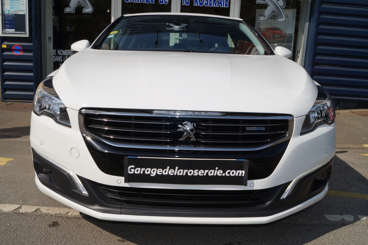 Occasion peugeot 508 allure 1 6 hdi 120 ch eat6 for Garage peugeot labarthe de riviere occasion