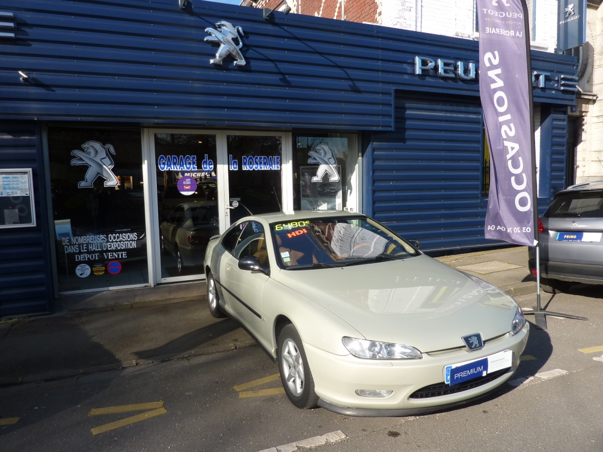 Occasion peugeot 406 coup pack 2 2 hdi 136 ch for Garage voiture occasion antibes