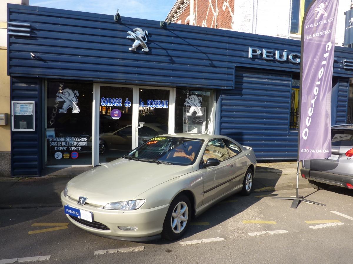 Occasion peugeot 406 coup pack 2 2 hdi 136 ch for Garage peugeot lille