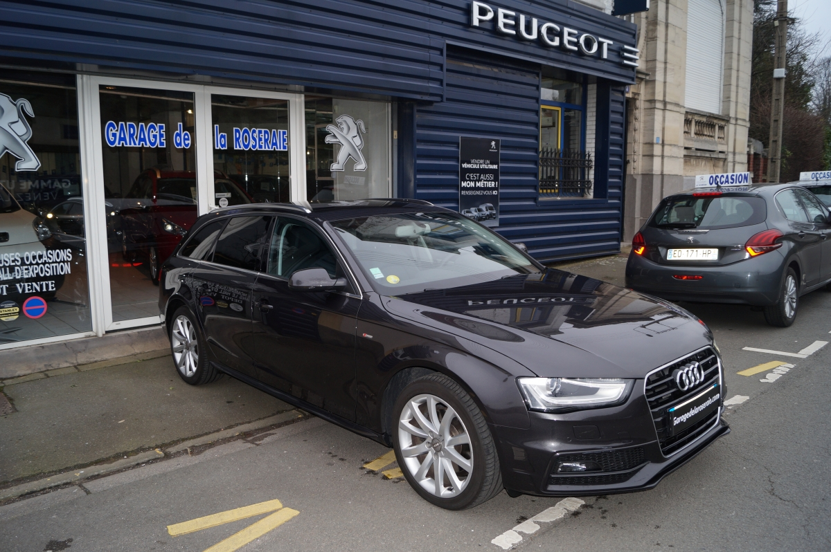 occasion audi a4 avant 2 0 tdi 150 ch ambition luxe pack s line quattro. Black Bedroom Furniture Sets. Home Design Ideas