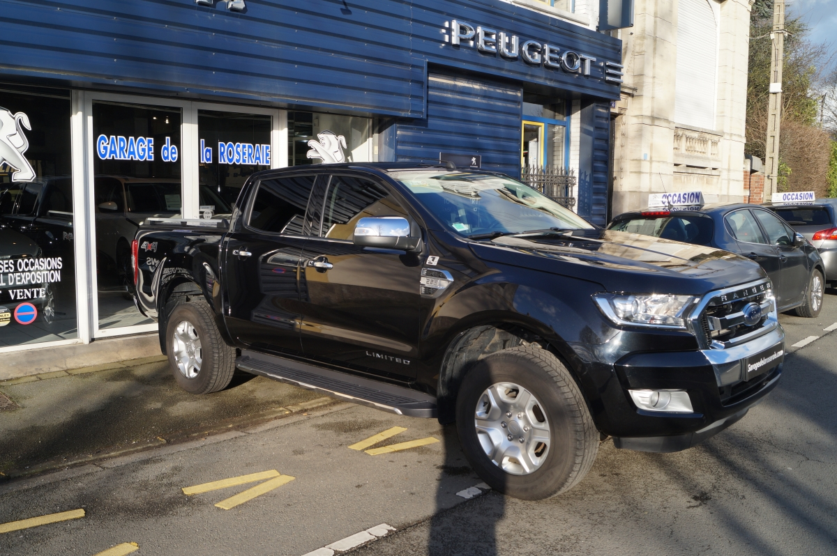 Occasion ford ranger 2 2 tdci 160 ch s s double cabine for Garage ford ploermel occasion