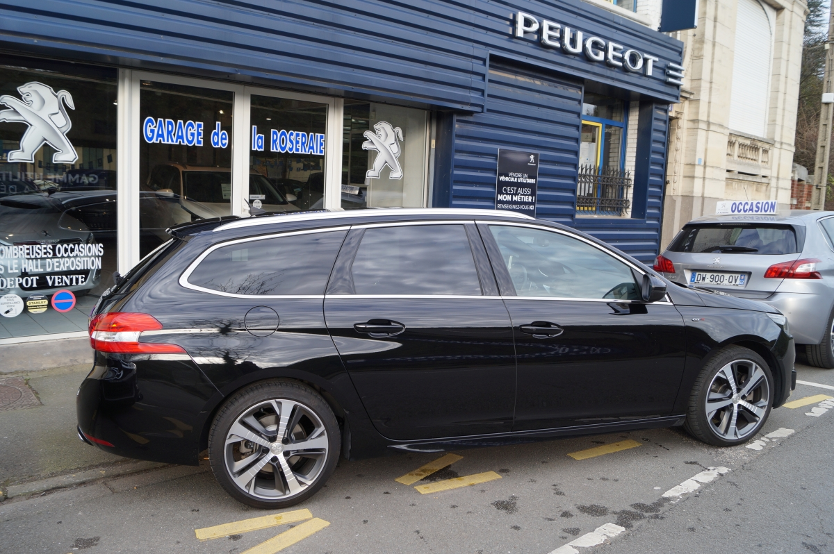 Occasion peugeot 308 sw 2 0 hdi 180 ch gt eat6 - Garage peugeot beziers voiture occasion ...