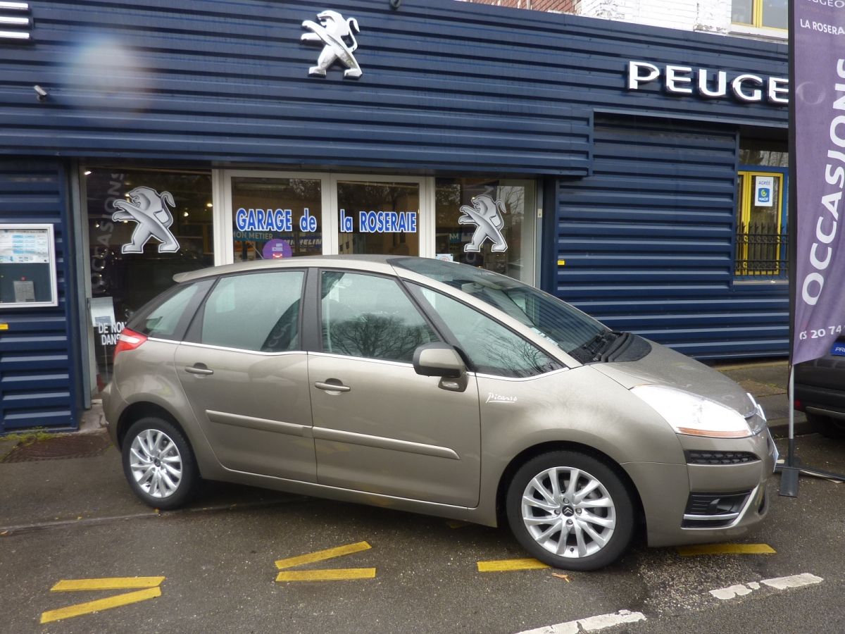 Occasion citro n c4 picasso c4 picasso pack dynamique 1 for Garage peugeot avenue d italie
