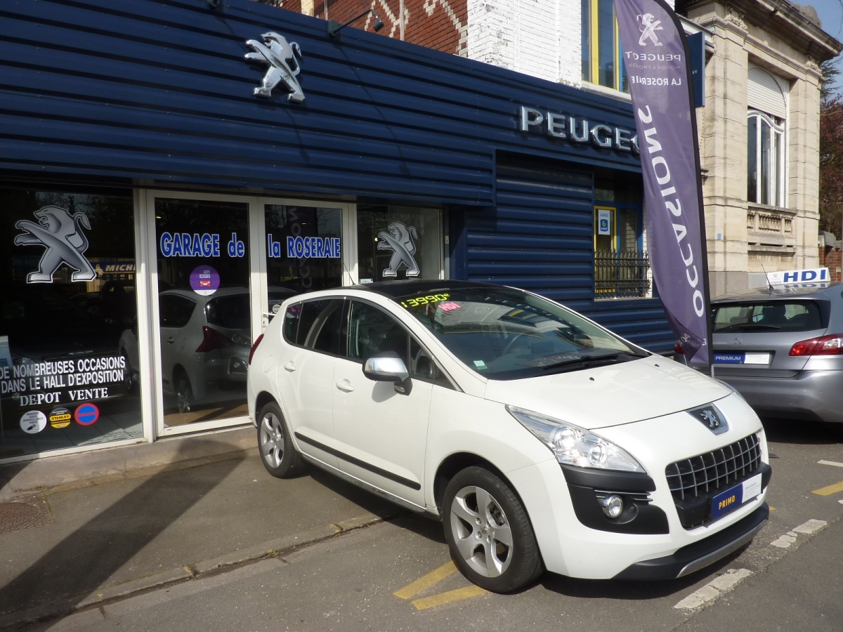 Occasion peugeot 3008 premium pack hdi 112 ch for Max garage calais