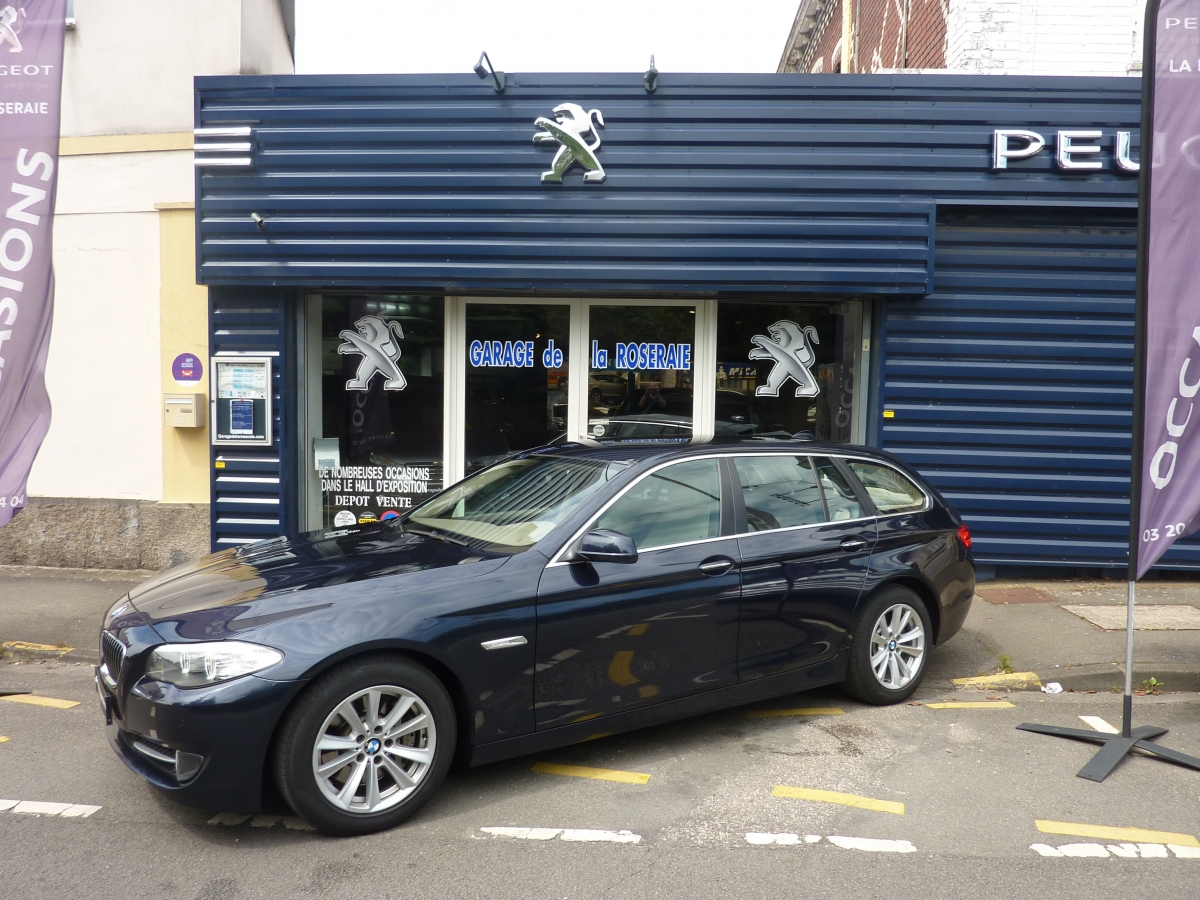 Occasion bmw s rie 5 530 da f11 touring luxe for Garage bmw annecy voiture occasion