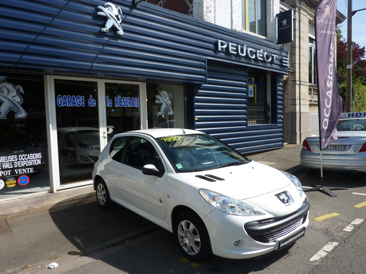 Occasion peugeot 206 generation 1 4 hdi 70 ch 3 portes for Garage vente voiture occasion moselle