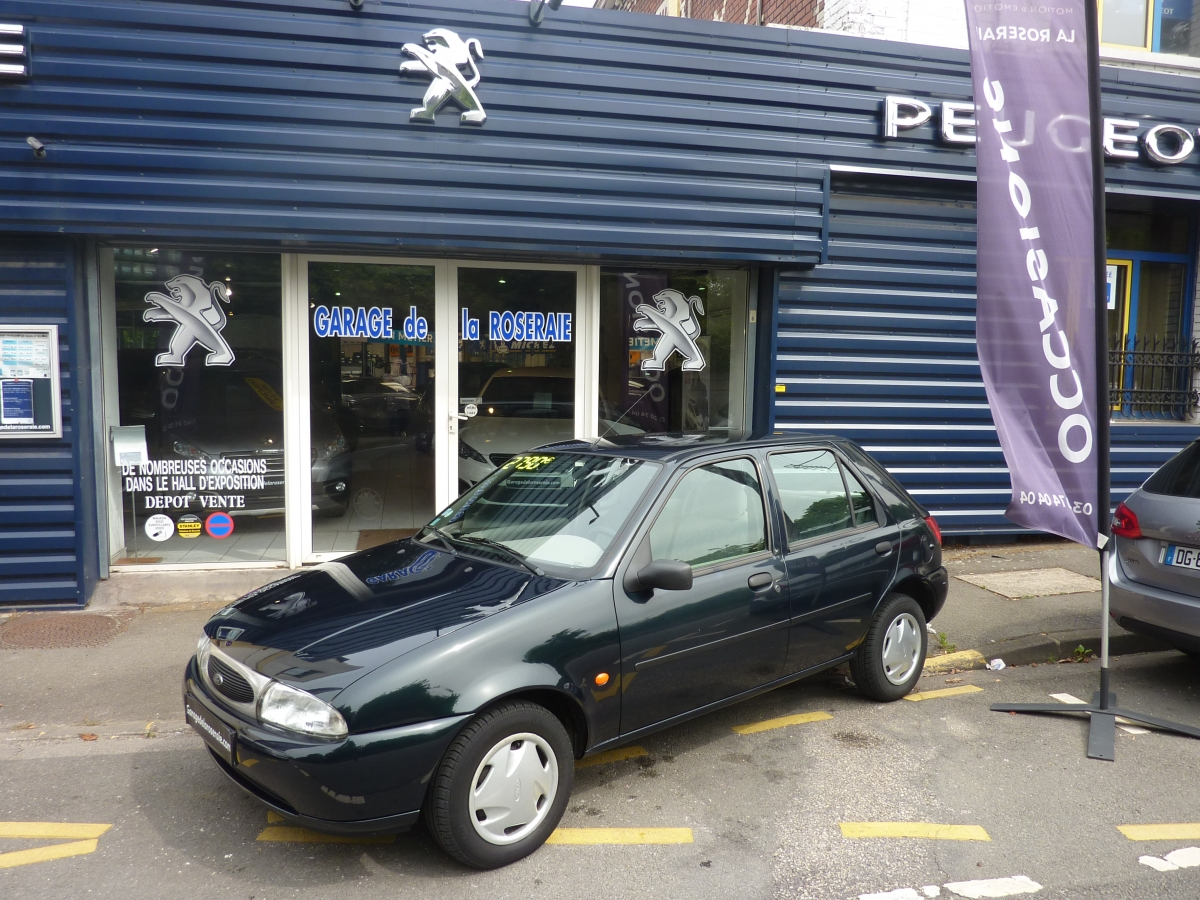 Occasion ford fiesta ford fiesta bva for Garage ford fiesta occasion