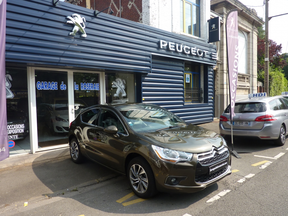 Occasion citro n ds4 ds4 so chic 1 6 e hdi 115 ch bmp6 - Voiture occasion nord pas de calais garage ...