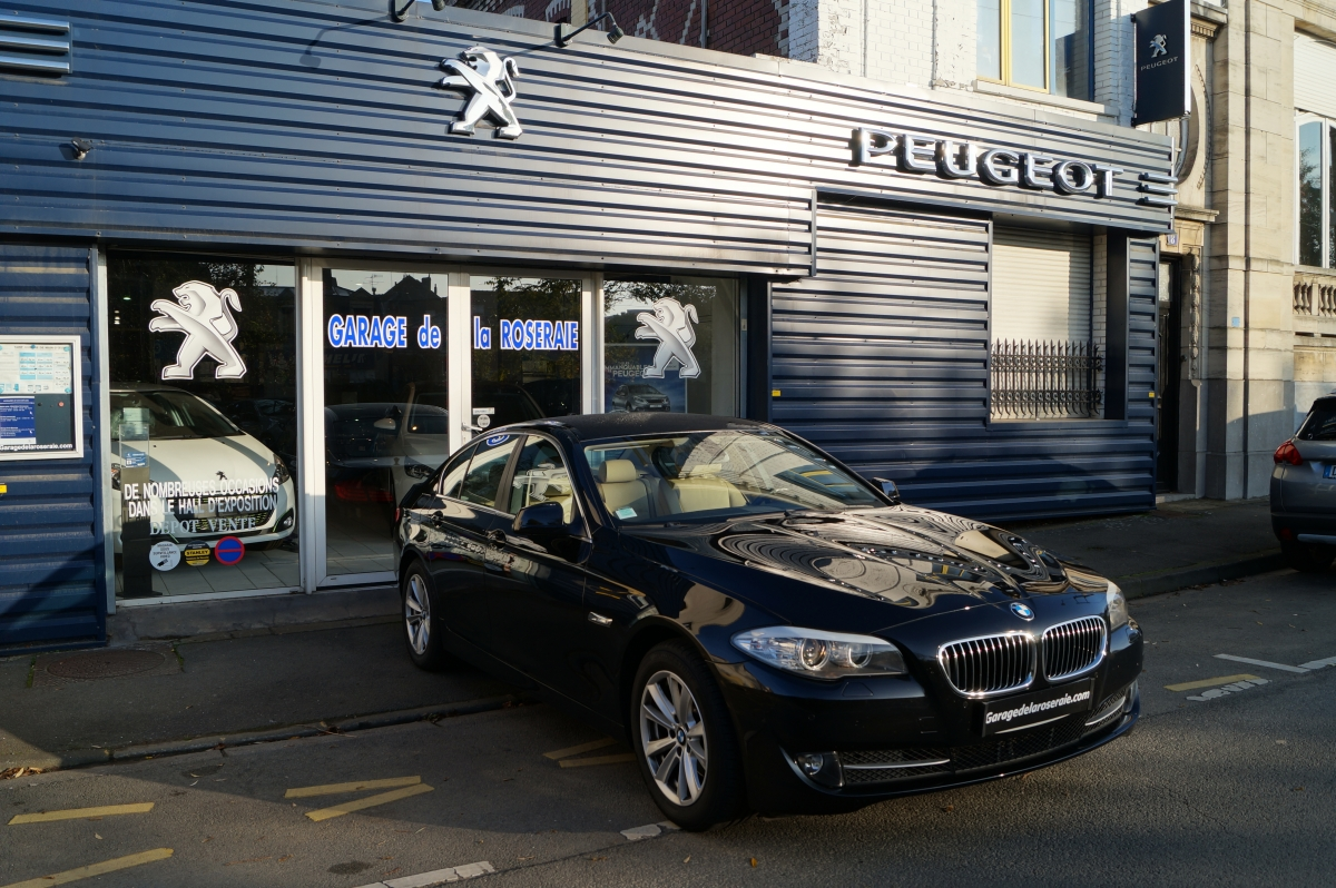 Occasion bmw s rie 5 f10 520 d f10 excellis 184 ch for Garage bmw bayonne occasion