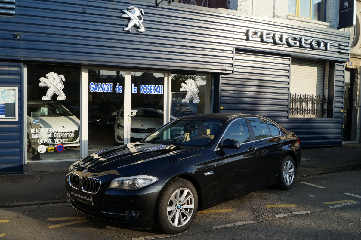 Occasion bmw s rie 5 f10 520 d f10 excellis 184 ch for Garage reprise voiture lille