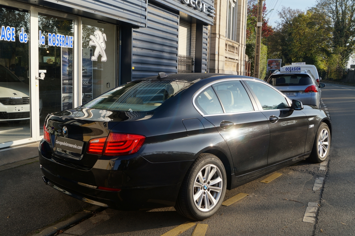 Occasion bmw s rie 5 f10 520 d f10 excellis 184 ch for Garage bmw annecy voiture occasion