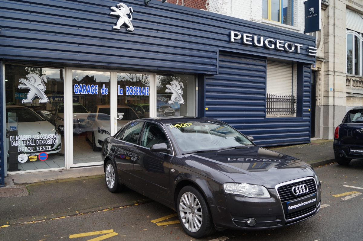 Occasion audi a4 ambition luxe 2 0 tdi 140 ch for Garage mercedes lille