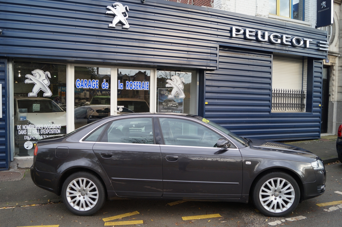 Occasion audi a4 ambition luxe 2 0 tdi 140 ch for Garage audi bayonne occasion