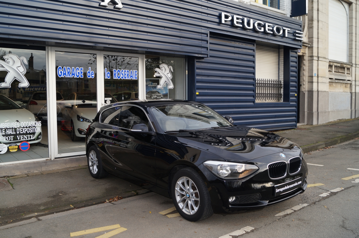 Occasion bmw s rie 1 f21 118 da business 143 ch 3 portes for Garage peugeot avenue d italie