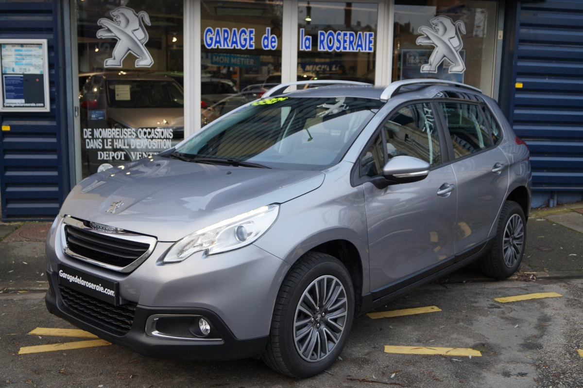 Occasion peugeot 2008 active 1 2 puretech 82 ch for Voiture occasion dans garage