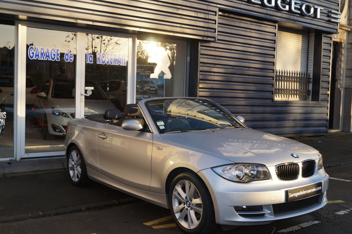 Occasion bmw s rie 1 e88 cabriolet luxe 170 ch - Voiture occasion annecy garage ...