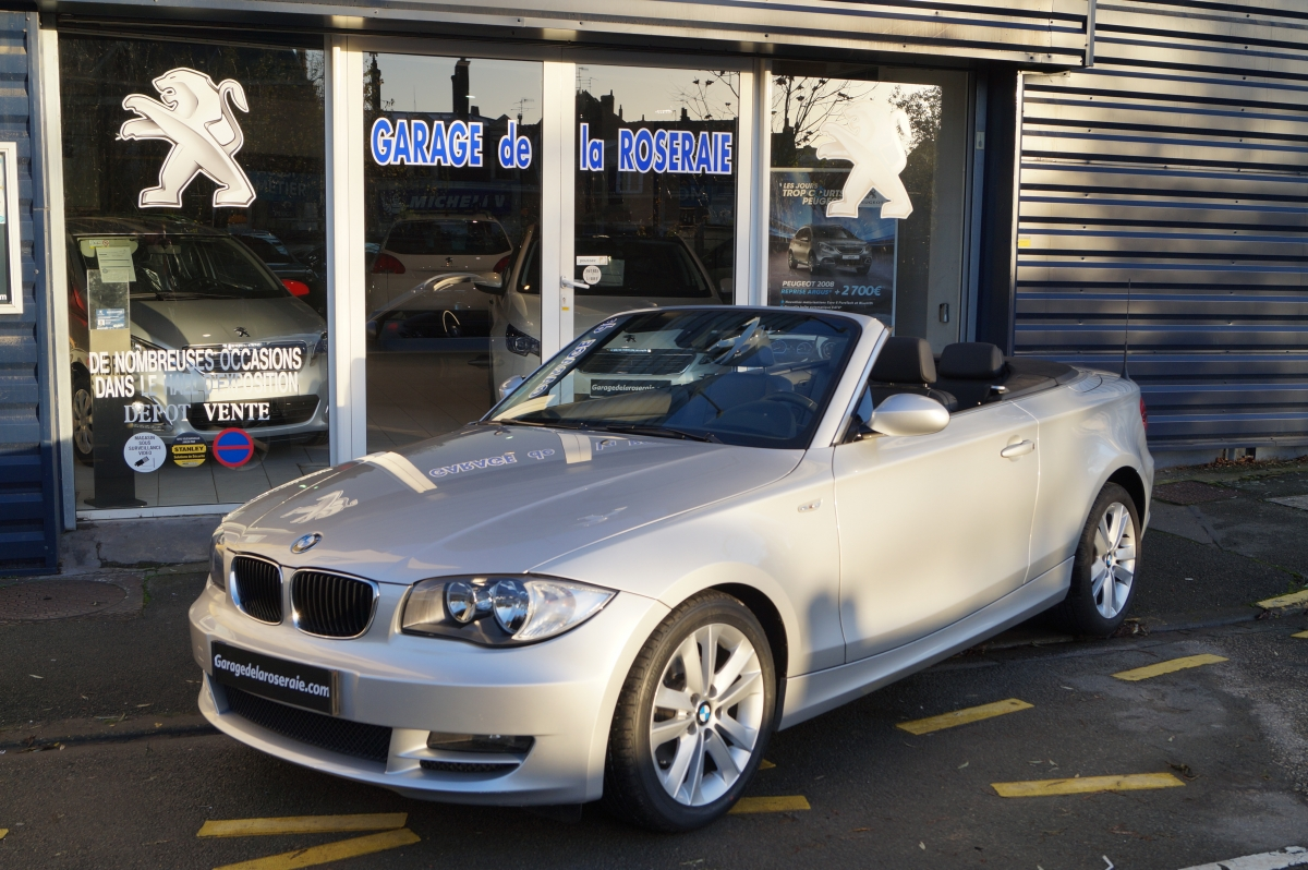 Occasion bmw s rie 1 e88 cabriolet luxe 170 ch for Garage voiture occasion antibes
