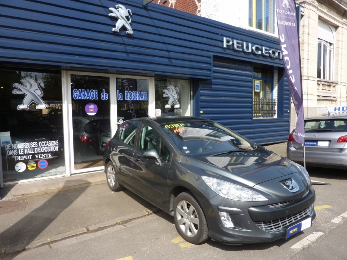 Occasion peugeot 308 premium pack hdi 110 ch for Garage peugeot lille