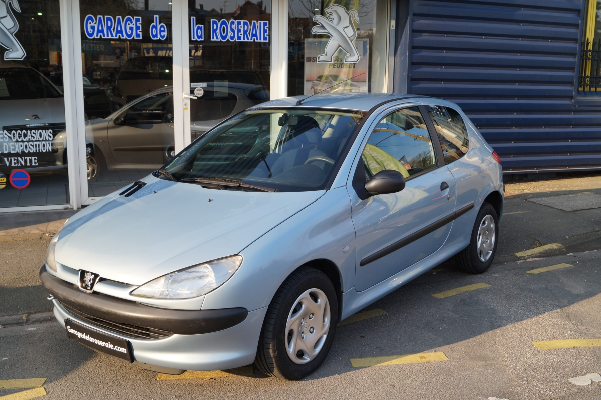 Occasion peugeot 206 xr pr sence 2 0 hdi 90 ch 3 p for Garage voiture occasion sedan
