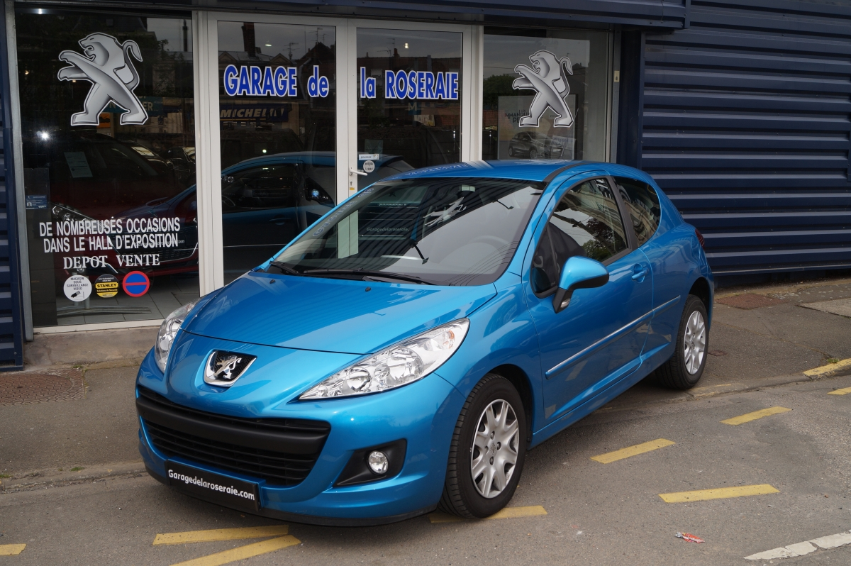 Occasion peugeot 207 207 1 4 essence 75 ch 3 portes for Garage occasion 89