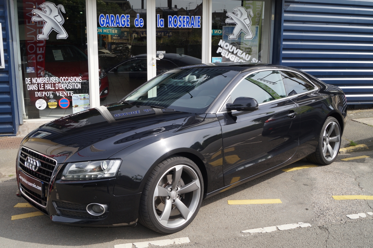 Occasion audi a5 3 0 tdi 240 ch quattro ambition luxe s for Garage voiture occasion sedan